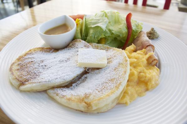 シーバーズカフェ,オリジナルパンケーキ