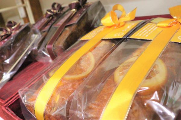 アトリエマドレーヌオレンジケーキ