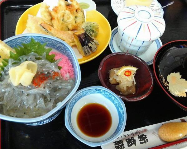 12新富鮨,日立の地魚御膳 1000円(税別) ランチメニュー