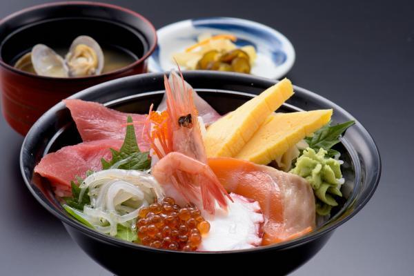 20国民宿舎鵜の岬,レストランしおさい,海鮮丼定食