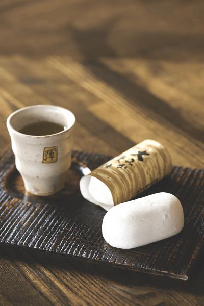 25運平堂本店、大みか饅頭とコーヒー