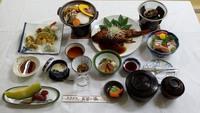 薬湯旅館長寿の湯、食事